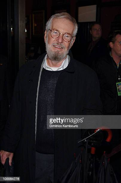 """Robert Benton during """"The Life Aquatic with Steve Zissou"""" New York Premiere - Inside Arrivals at Ziegfeld Theater in New York City, New York, United..."""