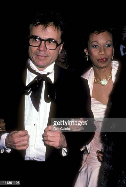 Robert Blake and Altovise Davis at the Hollywood Press 1986 Lifetime Achievement Awards Dinner Beverly Hills Hotel Beverly Hills