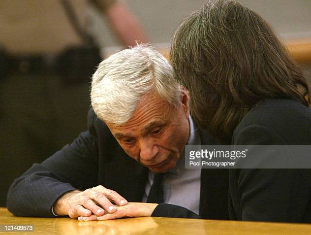 Robert Blake and his attorney Allison Shalinsky appear in Los Angeles Superior Court on Monday February 23 2004 Blake is charged in the May 2001...