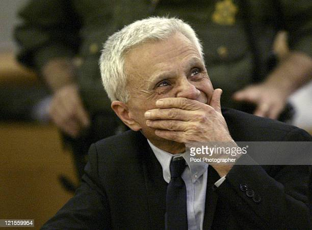 Robert Blake reacts after hearing he was acquitted on all counts in his murder trial for the death of his wife Bonny Lee Bakley in Los Angeles...