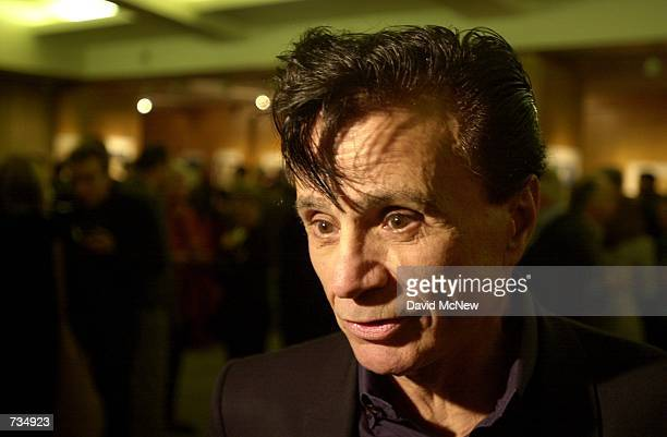 Robert Blake who starred in the 1967 movie In Cold Blood attends a reunion of the cast and crew November 10 2000 at a screening of the film at the...