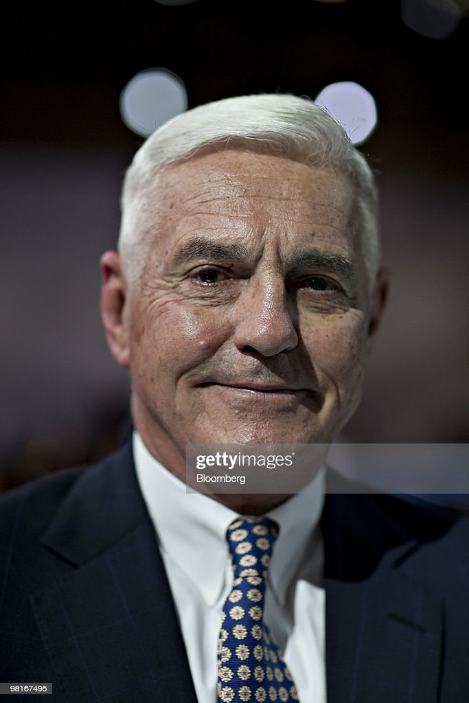 Robert 'Bob' Lutz, vice chairman of General Motors Co., smiles following a Chevrolet event during a media preview of the New York International Auto Show (NYIAS) in New York, U.S., on Wednesday, March 31, 2010. The show is open to the public April 2 - 11. Photographer: Daniel Acker/Bloomberg via Getty Images