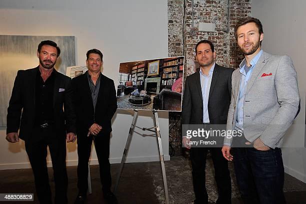 Robert Brown and Todd Davis founders of Brown Davis Interiors and Antonio Molinari Lincoln MKC Interior Designer and Dillon Blanski Lincoln MKC...