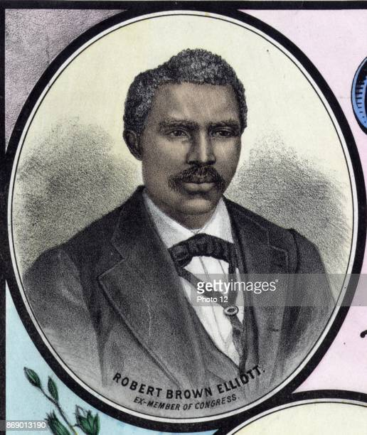 Robert Brown Elliott was an AfricanAmerican member of the United States House of Representatives from South Carolina serving from 18711874