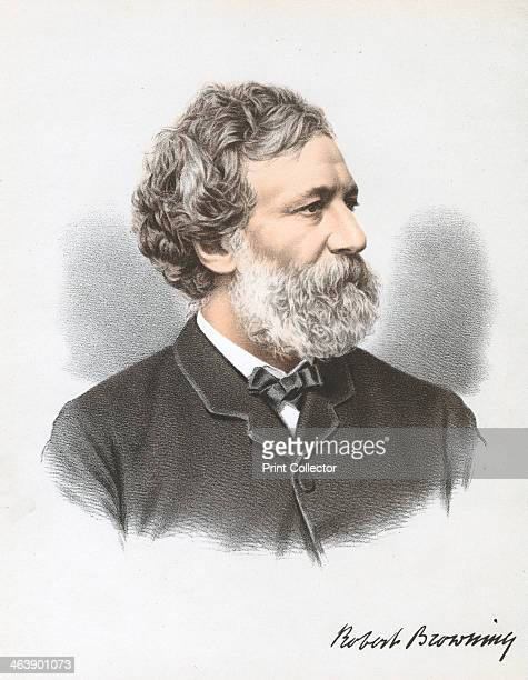 Robert Browning English poet and dramatist c1880 Born in Camberwell London Browning published his first poem'Pauline in 1833 and achieved his first...
