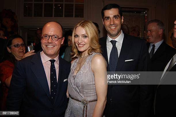 Robert Burke Madonna and Jim Gold attend Madonna Childrens Book Lotsa de Casha published by Callaway Arts and Entertainment at Bergdorf Goodman on...