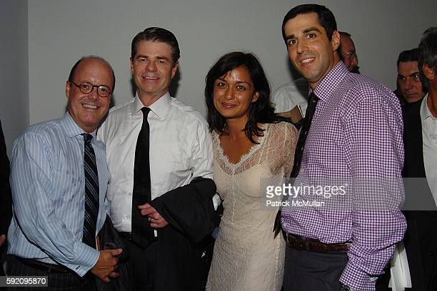 Robert Burke Tom Murrray Roopal Patel and Jim Gold attend Calvin Klein Spring 2006 Collection at Milk Studio on September 15 2005 in New York City