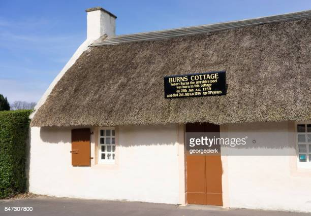 Robert Burns Cottage in Alloway, Ayrshire