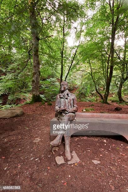 Robert Burns Statue near Aberfeldy.