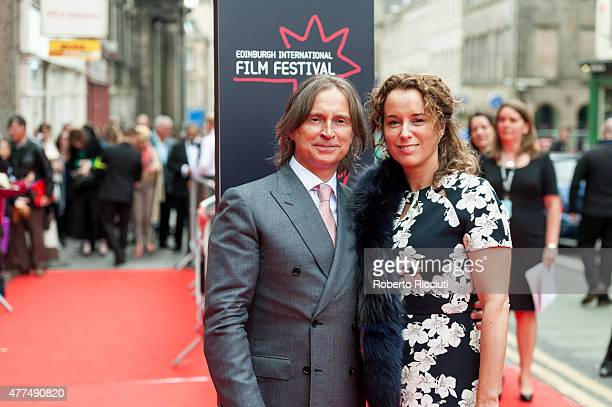 Robert Carlyle and Anastasia Shirley attend the Opening Night Gala and World Premiere of 'The Legend of Barney Thomson' during the Edinburgh...