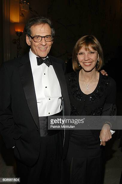 Robert Caro and Judy Miller attend BARBARA GOLDSMITH Receives Authors Guild Distinguished Service Award at The Metropolitan Club on May 21 2007 in...
