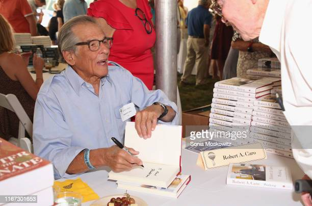 Robert Caro at the East Hampton Library's 15th Annual Authors Night Benefit on August 10 2019 in Amagansett New York