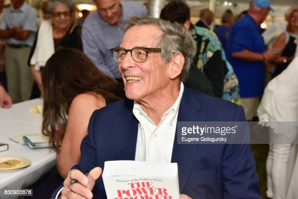 Robert Caro attends Authors Night 2017 At The East Hampton Library at The East Hampton Library on August 12 2017 in East Hampton New York