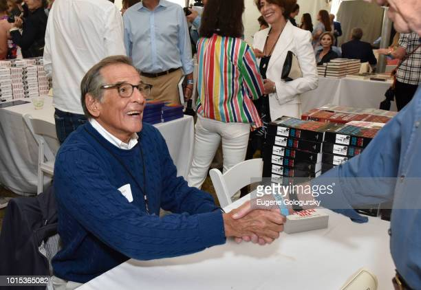 Robert Caro attends Authors Night At East Hampton Library on August 11 2018 in East Hampton New York