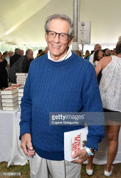 Robert Caro attends Authors Night At East Hampton Library on August 11, 2018 in East Hampton, New York.