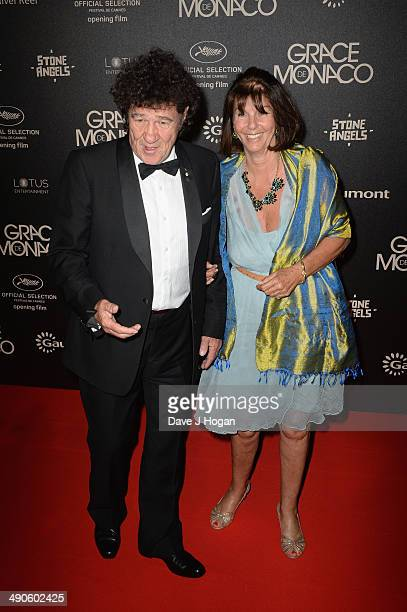 Robert Charlebois and Laurence Charlebois attend the after party for Grace of Monaco during the 67th Annual Cannes Film Festival on May 14 2014 in...