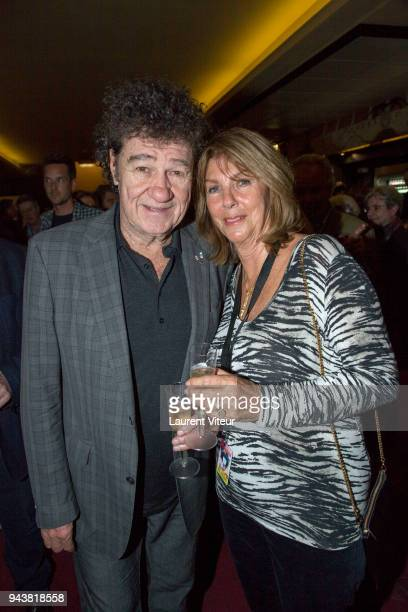 Robert Charlebois and Laurence Charlebois celebrate them 41th Wedding Anniversary during Robert Charlebois Performs for 50th years of Songs at Le...