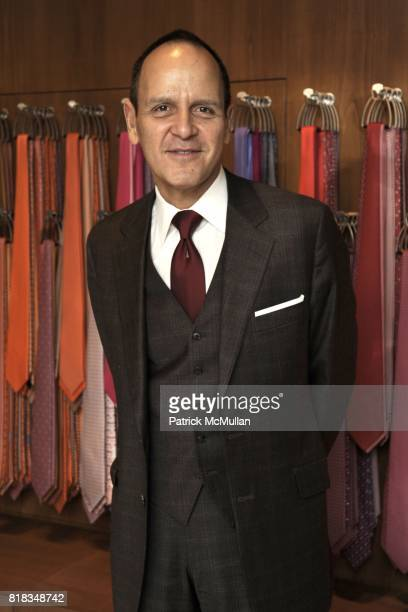 Robert Chavez attends Opening of the First HERMES Men's Store in New York at Hermes Men's Store on February 9, 2010 in New York City.