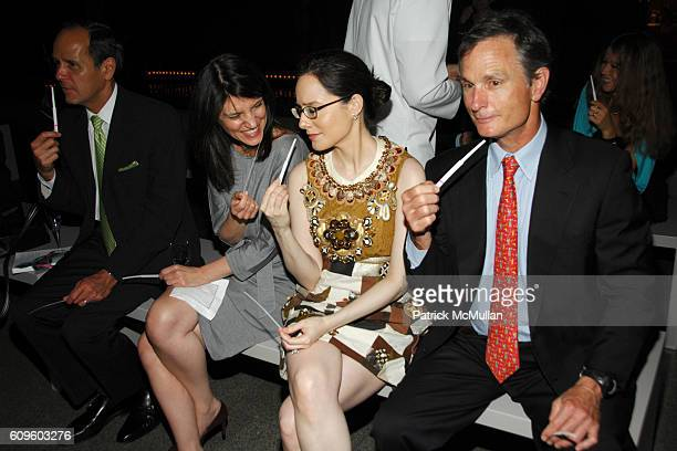 Robert Chavez Susan Anthony Pamela Fielder and David Ford attend HERMES and FRIENDS OF THE COSTUME INSTITUTE host LE PARFUM with Hermes Perfumer...