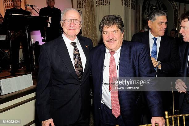 Robert Chelberg and Dan Ricciardi attend An Evening Honoring Joe Namath at The Plaza Hotel on October 20 2016 in New York City