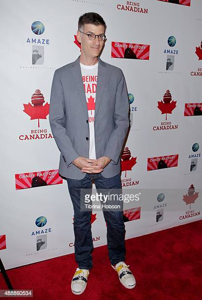 Robert Cohen attends the premiere of 'Being Canadian' at Crest Westwood on September 17 2015 in Westwood California