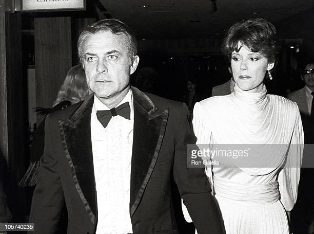 Robert Conrad and guest during Party Honoring Agent/Manager Jay Bernstein January 14 1984 at Sheraton Universal Hotel in Los Angeles California...