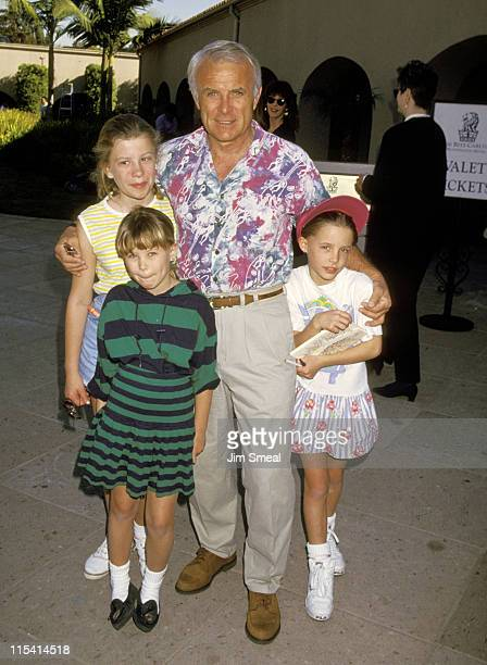 Robert Conrad and guests during CBS Winter TCA Press Tour January 12 1994 at Ritz Carlton Hotel in Pasadena California United States