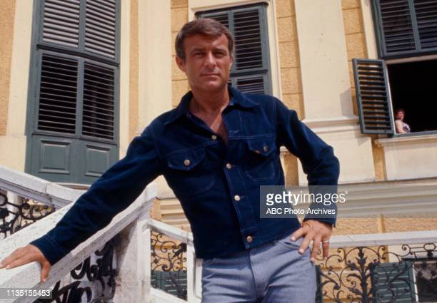 Robert Conrad appearing in the Walt Disney Television via Getty Images tv series 'Assignment Vienna'