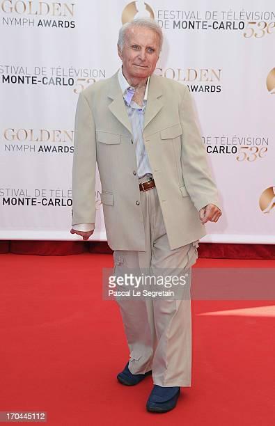 Robert Conrad attends the closing ceremony of the 53rd Monte Carlo TV Festival on June 13 2013 in MonteCarlo Monaco
