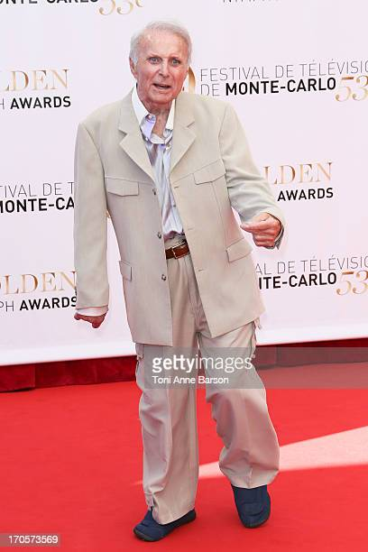 Robert Conrad attends the closing ceremony of the 53rd Monte Carlo TV Festival on June 13 2013 in MonteCarlo Monaco