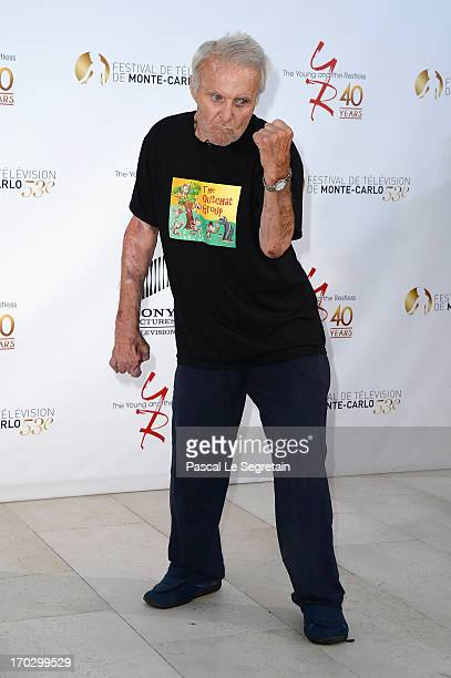 Robert Conrad attends 'The Young and the Restless' party marking the 40th anniversary of TV series at MonteCarlo Bay Resort Hotel on June 10 2013 in...