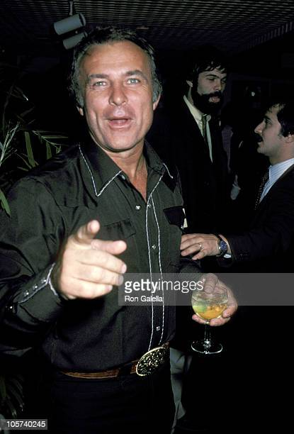 Robert Conrad during Wrong is Right Premiere Party March 24 1982 at Greenery Restaurant in New York City New York United States