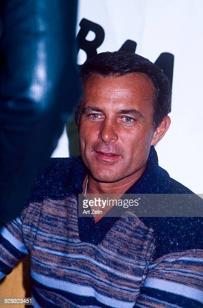 Robert Conrad in a casual sweater circa 1970 New York