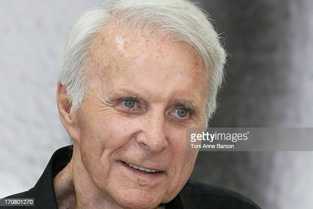 Robert Conrad poses at a photocall during the 53rd Monte Carlo TV Festival on June 12 2013 in MonteCarlo Monaco