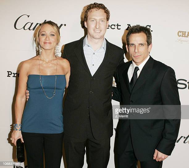 Robert Cooper of Chambord with Ben Stiller and Christine Taylor