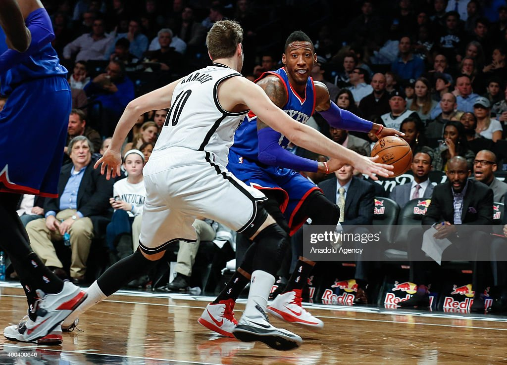 Philadelphia 76ers v Brooklyn Nets : News Photo