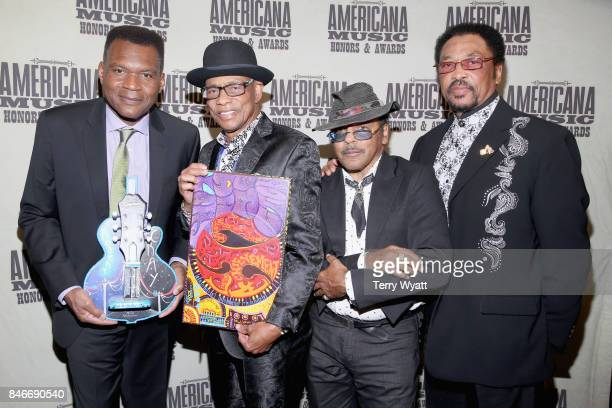 Robert Cray and Hi Rhythm attend the 2017 Americana Music Association Honors Awards on September 13 2017 in Nashville Tennessee