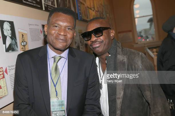 Robert Cray and Steve Jordan attend the 2017 Americana Music Association Honors Awards on September 13 2017 in Nashville Tennessee