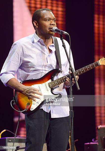 Robert Cray performs on stage during the 2013 Crossroads Guitar Festival at Madison Square Garden on April 13 2013 in New York City
