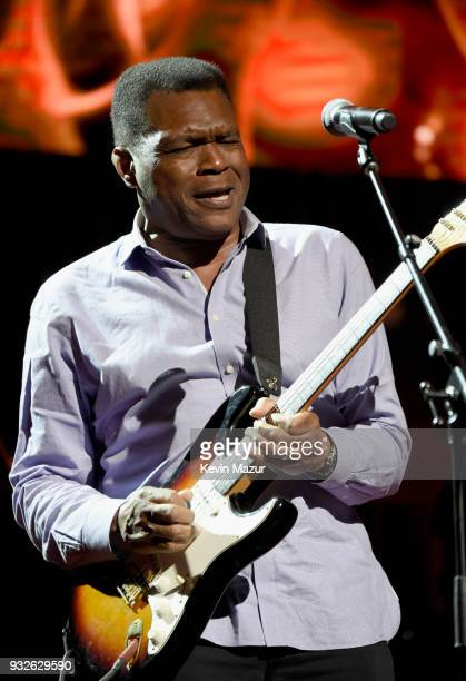 Robert Cray performs onstage at the Second Annual LOVE ROCKS NYC A Benefit Concert for God's Love We Deliver at Beacon Theatre on March 15 2018 in...