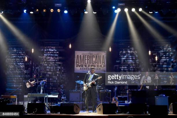 Robert Cray performs onstage during the 2017 Americana Music Association Honors Awards on September 13 2017 in Nashville Tennessee