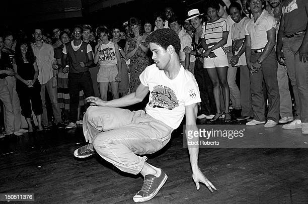 Robert 'Crazy Legs' Colon the president of the original Rock Steady Crew and star of the movies 'Flashdance' 'Beat Street' 'Wild Style' and 'Style...