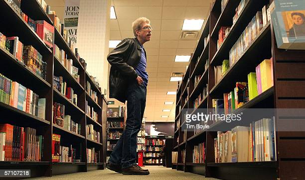 Robert Cronberg shops for books at a Barnes Noble book store March 16 2006 in Arlington Heights Illinois Barnes Noble reported that store sales for...