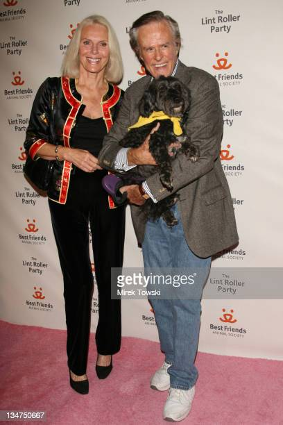Robert Culp and Sivi Aberg during The Lint Roller Party Best Friends Animal Society's Annual FundRaiser at Smashbox in Los Angeles California United...