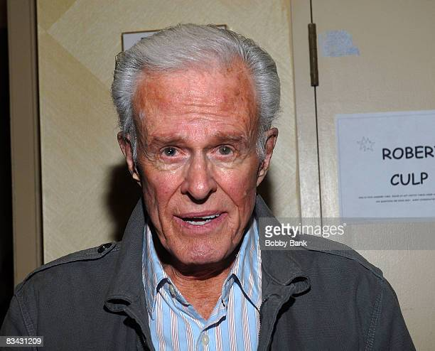 Robert Culp attends the Chiller Theatre Expo at the Hilton Parsippany Hotel on October 24 2008 in Parsippany New Jersey