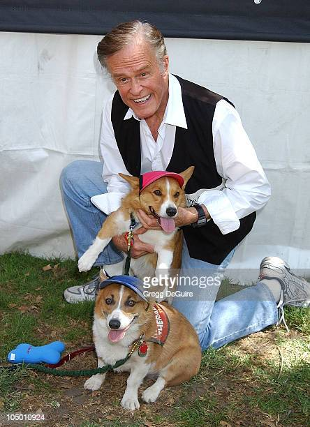 Robert Culp during Best Friends Animal Sanctuary's Pet Adoption Festival at Johnny Carson Park in Burbank California United States
