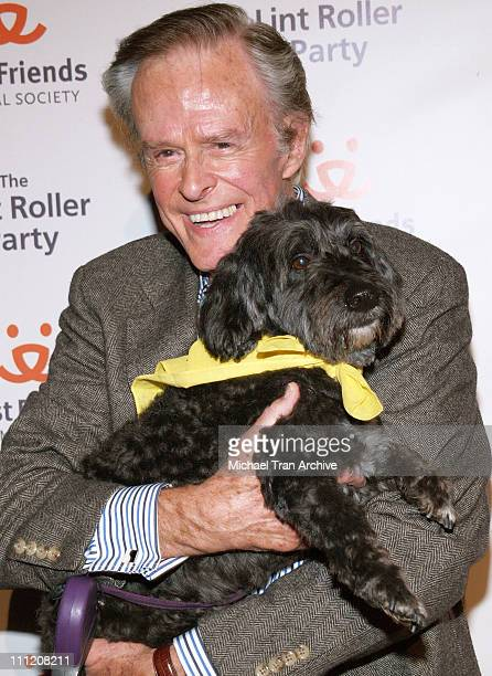 Robert Culp during The Lint Roller Party Best Friends Animal Society's Annual Fundraiser Benefiting Homeless Pets in Los Angeles at Smashbox Studios...