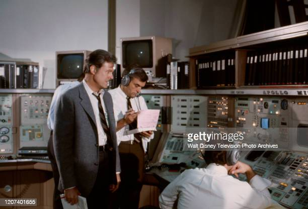 Robert Culp Ed Nelson appearing in the ABC tv movie 'Houston We've Got a Problem'