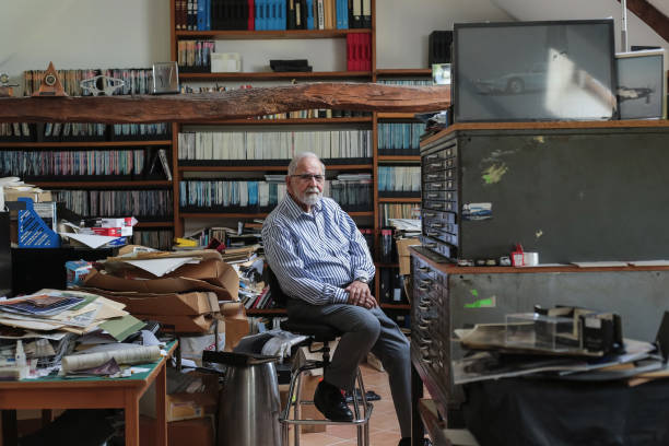 FRA: Car Designer And Critic Robert Cumberford