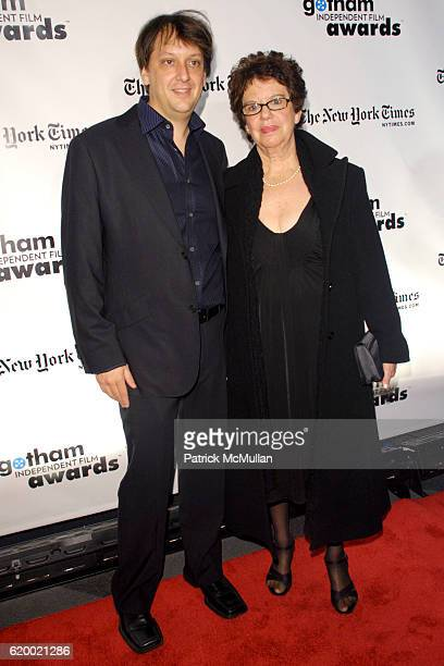 Robert D Siegel and guest attend 18th Annual GOTHAM INDEPENDENT FILM AWARDS Red Carpet at Museum of Finance on December 2 2008 in New York City